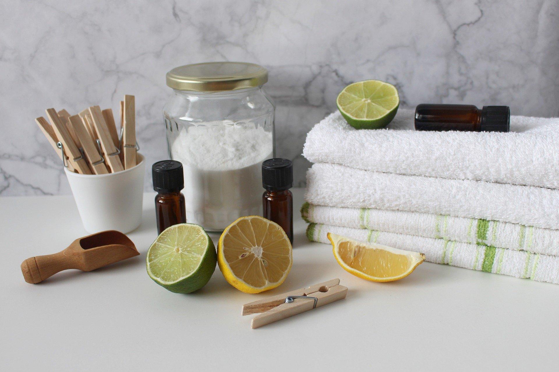 セスキ炭酸ソーダ,衣類の黄ばみ