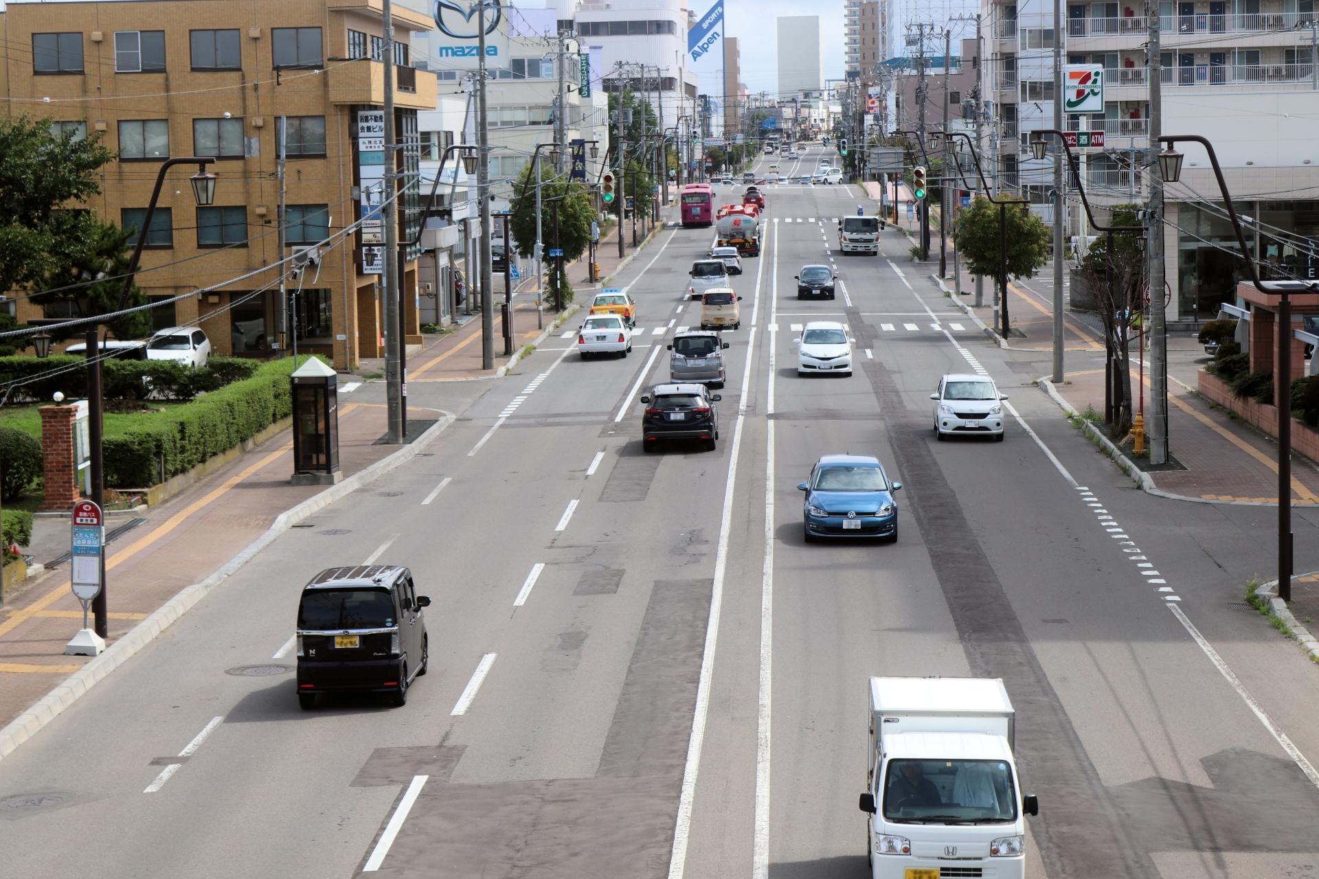 改正された道路交通法