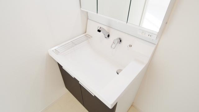 ハウスクリーニング,洗面台,洗面所
