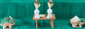端午の節句,三段飾り,柏餅,瓶子,粽